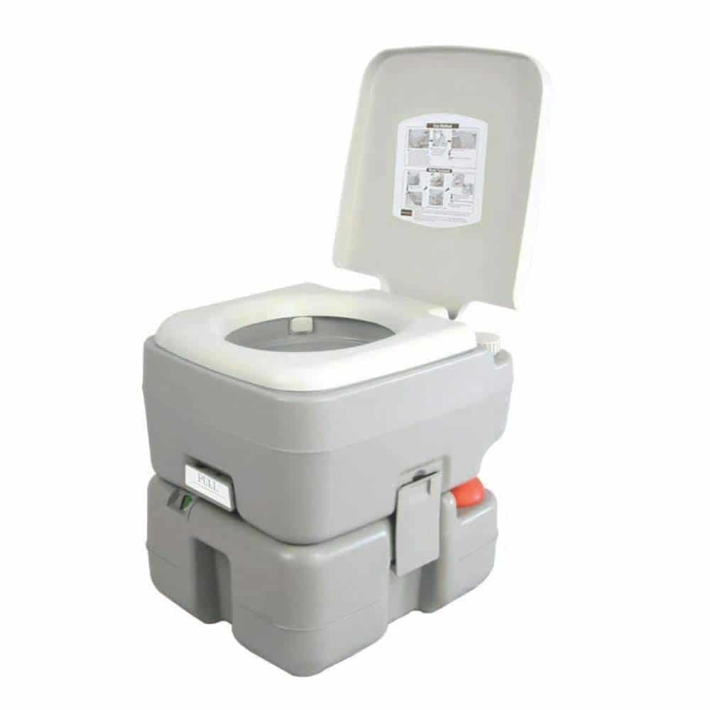 SereneLife Portable Toilet - Best for Big People