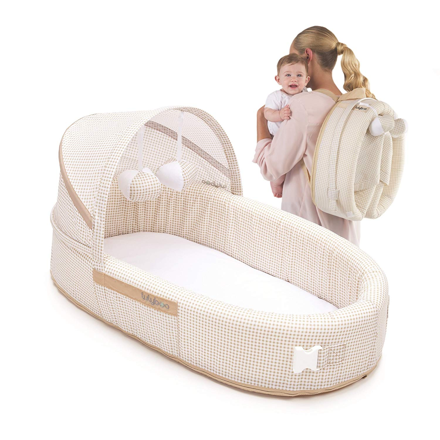 LulyBoo Bassinet To-Go Natural
