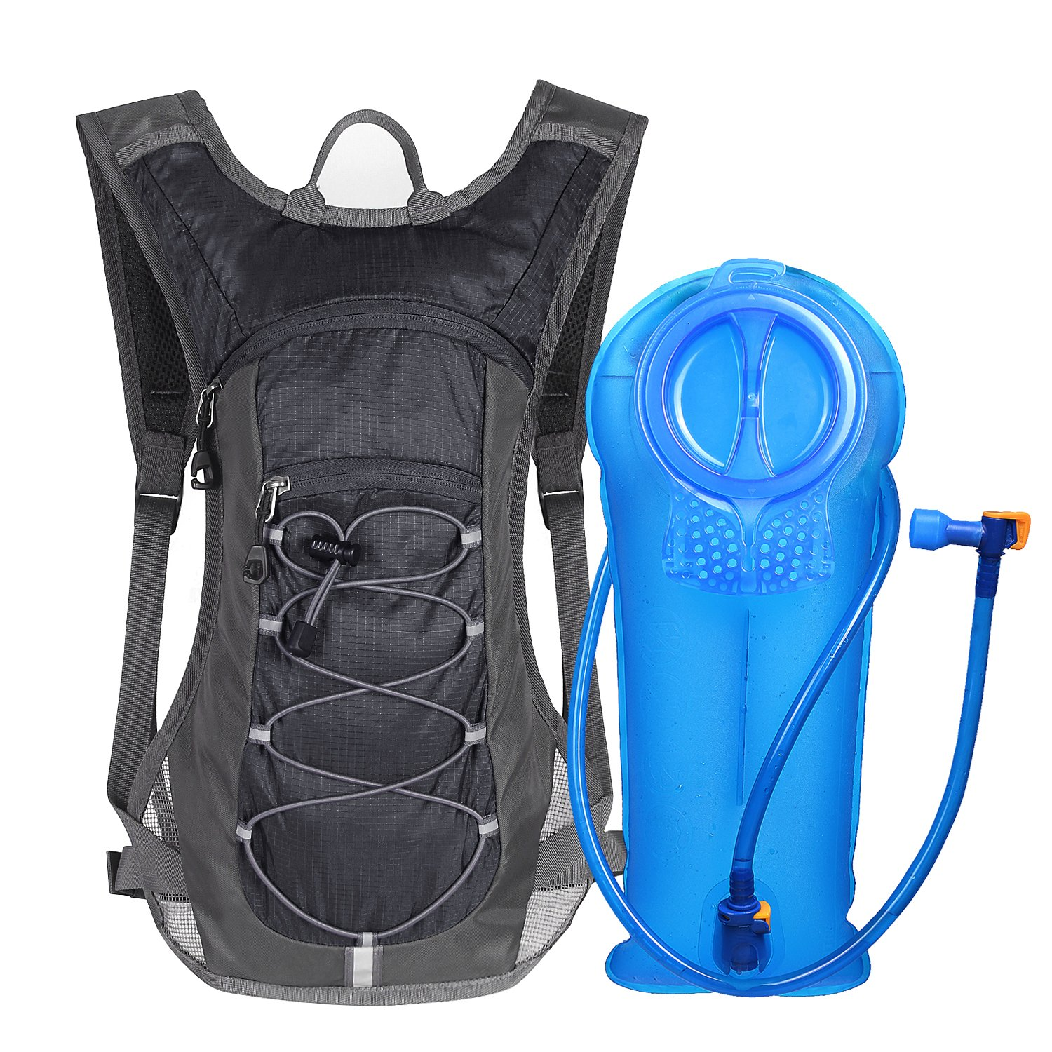 Click image to open expanded view Unigear Hydration Pack Backpack with 70 oz 2L Water Bladder for Running, Hiking, Cycling, Climbing, Camping, Biking