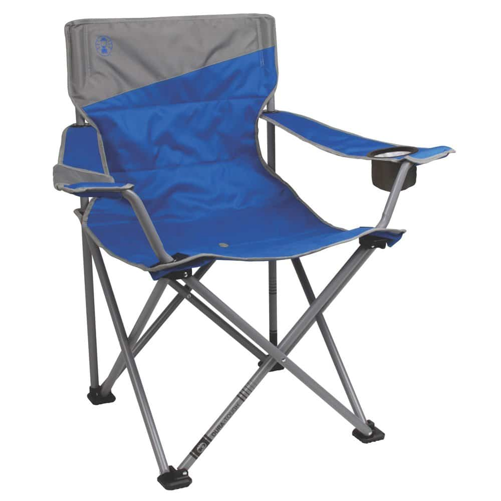 Coleman Camping Chair for Big and Tall Adults Tailgating Chair Beach Chair Portable Quad Chair for Big and Tall Adults for the Outdoors