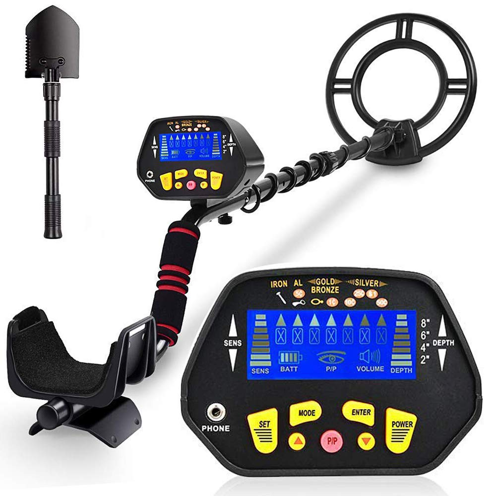 RM RICOMAX Metal Detector for Adults -【High-Accuracy】Metal Detector Waterproof with LCD Display