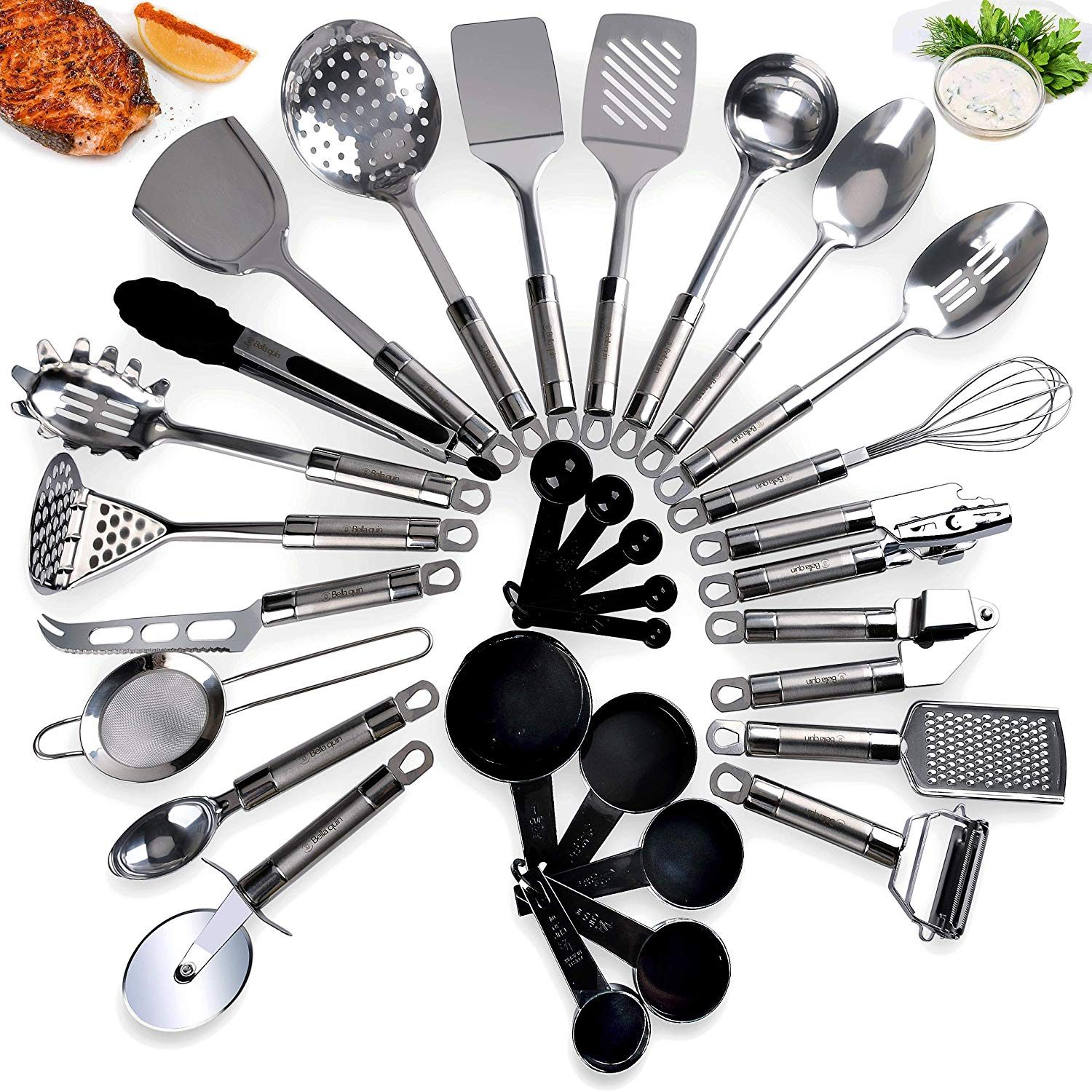 10 Best Kitchen Utensil Sets In 2020 [Review & Buyer\'s Guide]