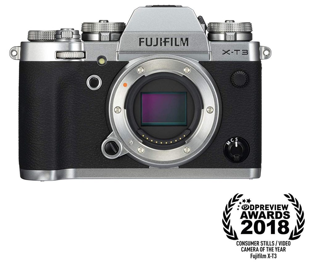 Fujifilm X-T3 Mirrorless Digital Camera (Body Only) - Silver