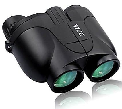 G4Free Kids Binoculars Mini Compact Size 10x25 Binocular HD BAK4 Clear Optical Lens Easy for Bird Watching,Camping, for Educational Binocular Set Boys Girls