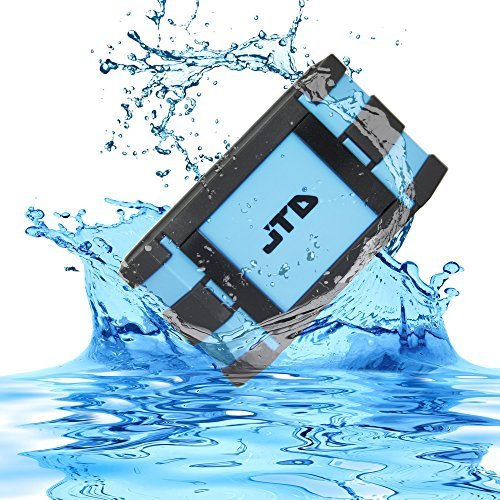 JTD Waterproof Floating Speaker, Armor Portable Bluetooth Speaker