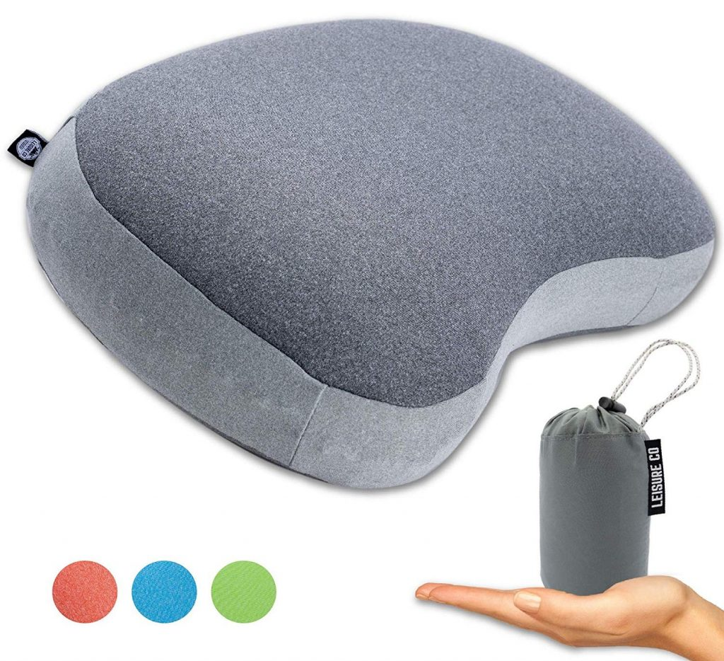 Leisure Co Ultralight Inflatable Camping Pillow