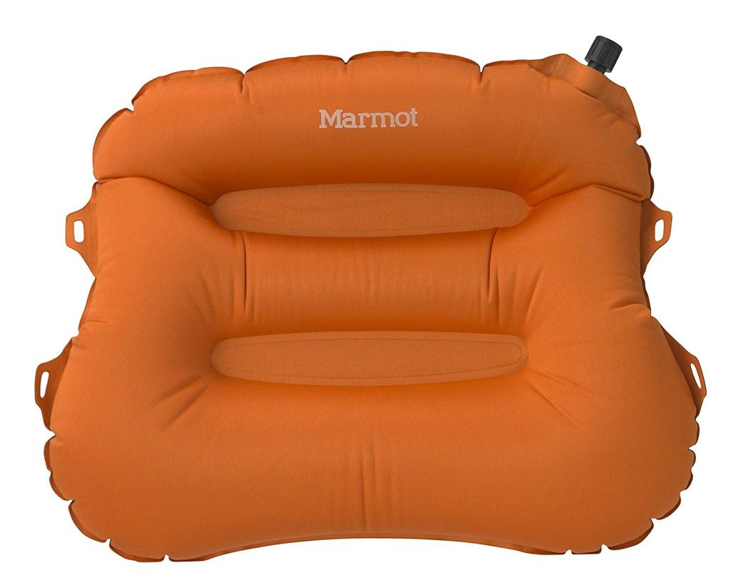 Marmot Cirrus Inflatable Camping and Backpacking Pillow, Vintage Orange, One Size
