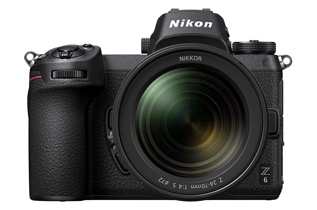 Nikon Z6 FX-Format Mirrorless Camera Body with NIKKOR Z 24-70mm