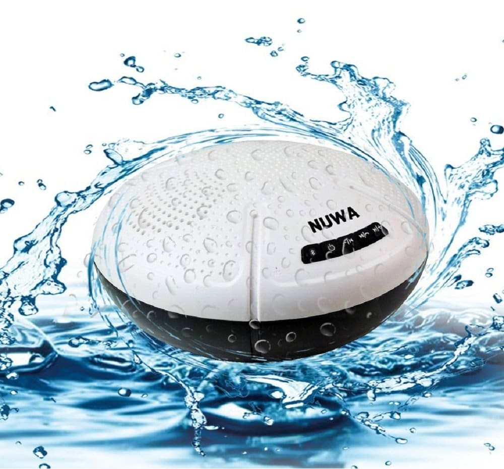Portable Swimming Pool Float Bluetooth Speaker Wireless Waterproof Stereo Splashproof Shockproof Dustproof