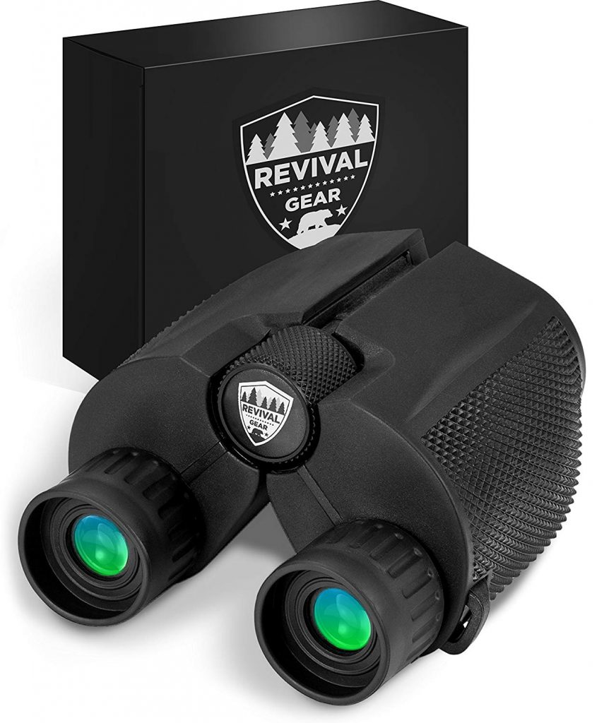 Powerful Compact Binoculars Tactical and Durable Set That Everyone Finds Easy To Use. Includes Neck Strap and Travel Case.