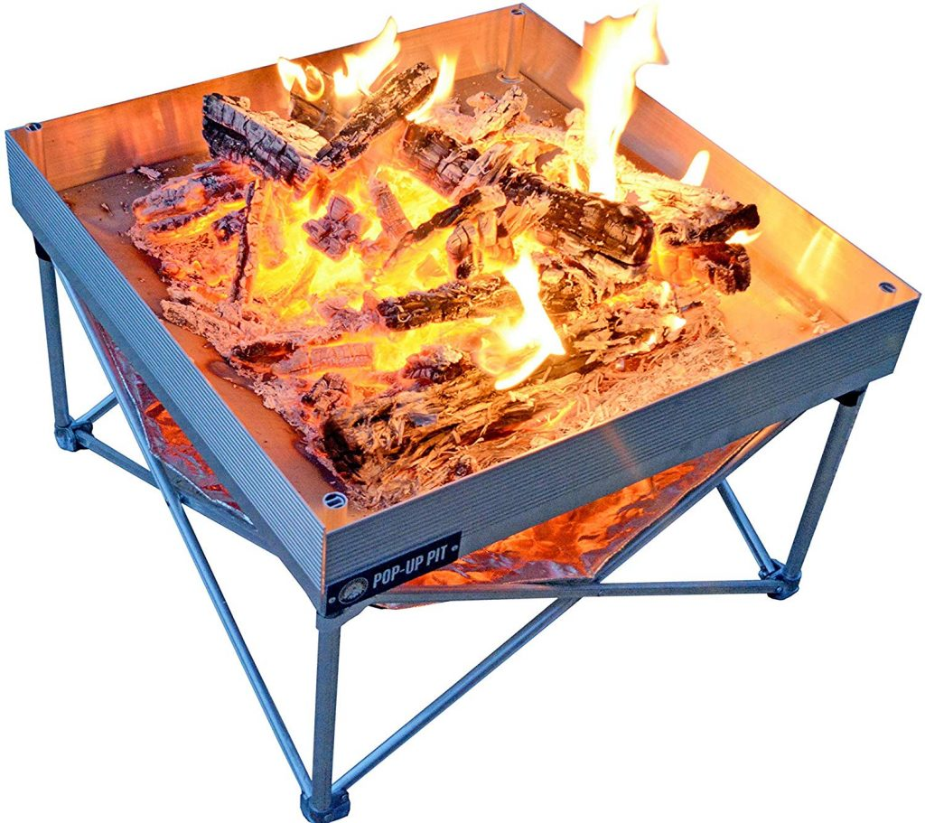 Campfire Defender Protect Preserve Pop-Up Fire Pit