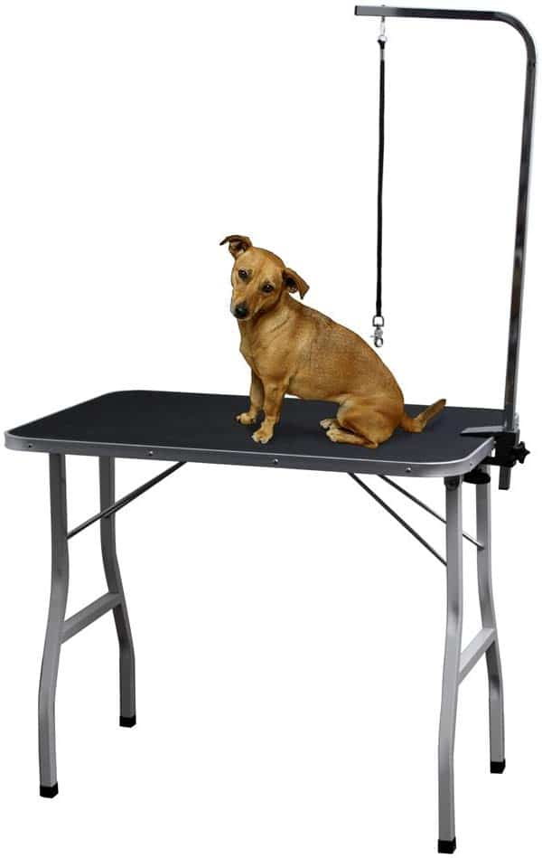 Grooming Table for Dogs - Tables Stand Pet Supplies Best for Small Medium Large Dog & Cat