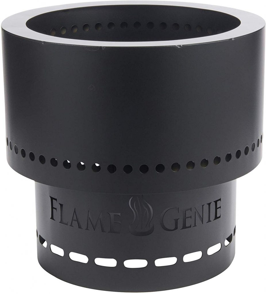 HY-C FG-16 Flame Genie Portable Smoke-Free Wood Pellet Fire Pit
