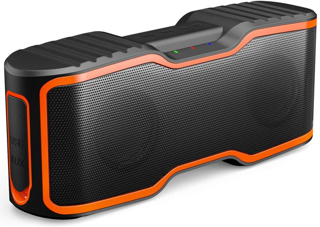 AOMAIS Sport II Portable Wireless Bluetooth Speakers Waterproof IPX7, 15H Playtime, 20W Bass Sound, Stereo Pairing, Durable Design Backyard, Outdoors, Travel, Pool, Home Party