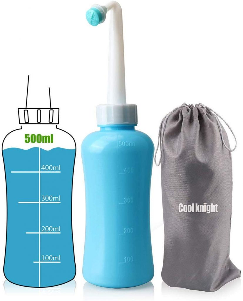 Cool knight Travel Bidet - Home Bidet - Portable Bidet - Handheld Bidet - Personal Hygiene Cleaning bottle-500ml