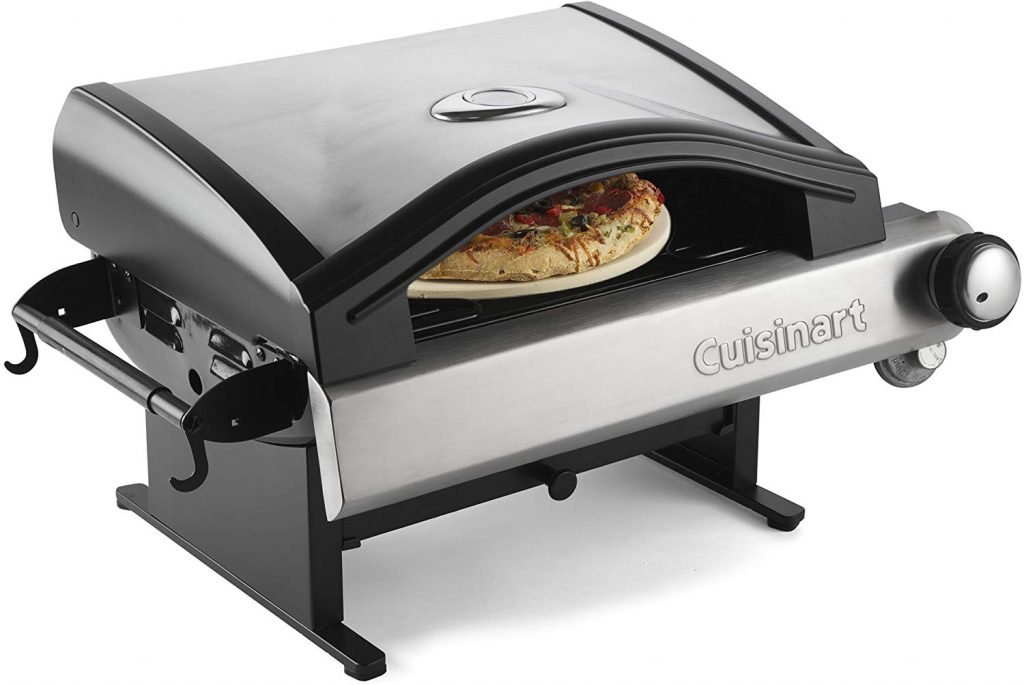 Cuisinart CPO-600 Alfrescamore Portable Outdoor Pizza Oven, Stainless Steel