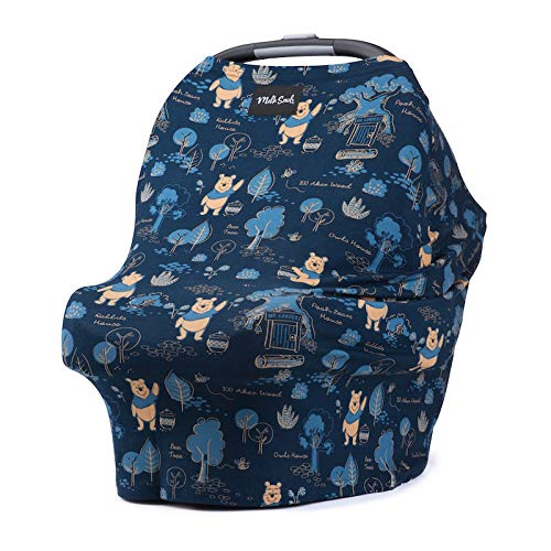 Disney Collection The Original Milk Snob Infant Car Seat Cover and Nursing Cover