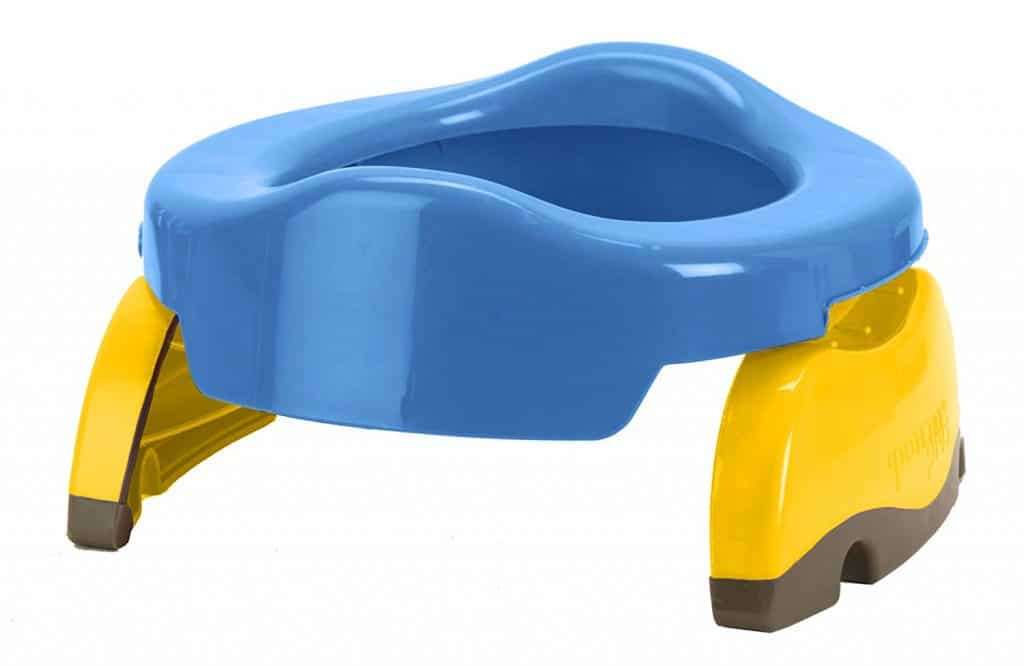 Kalencom Potette Plus 2-in-1 Travel Potty Trainer Seat Blue