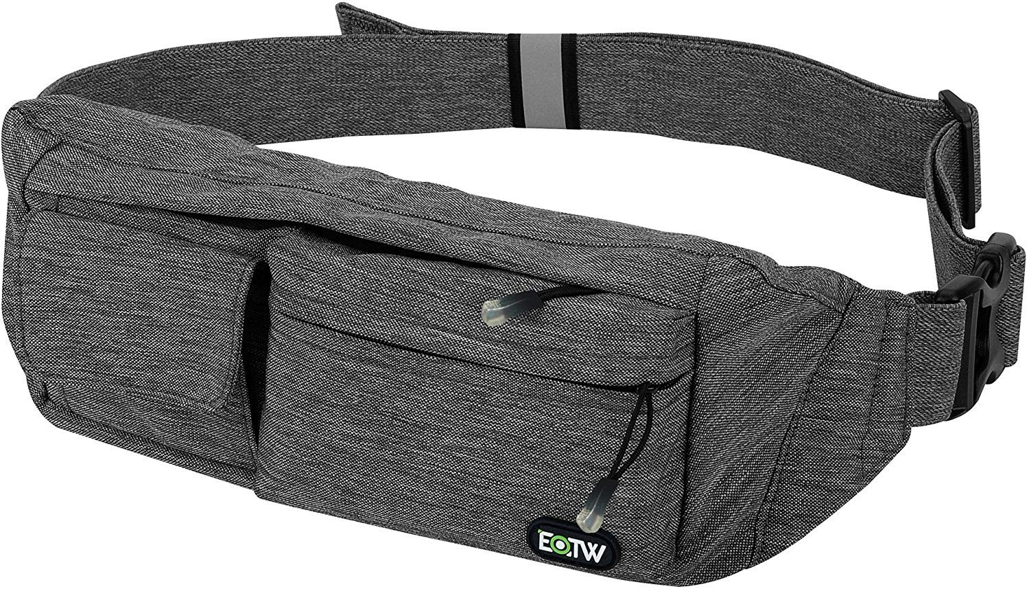 Fun FACT I Dont Care Sport Waist Packs Fanny Pack Adjustable For Run