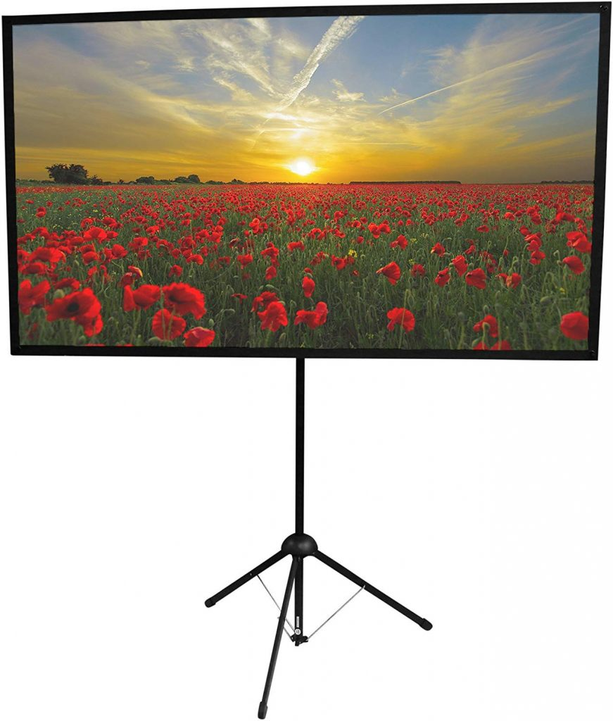GO-60 Portable Projector Screen