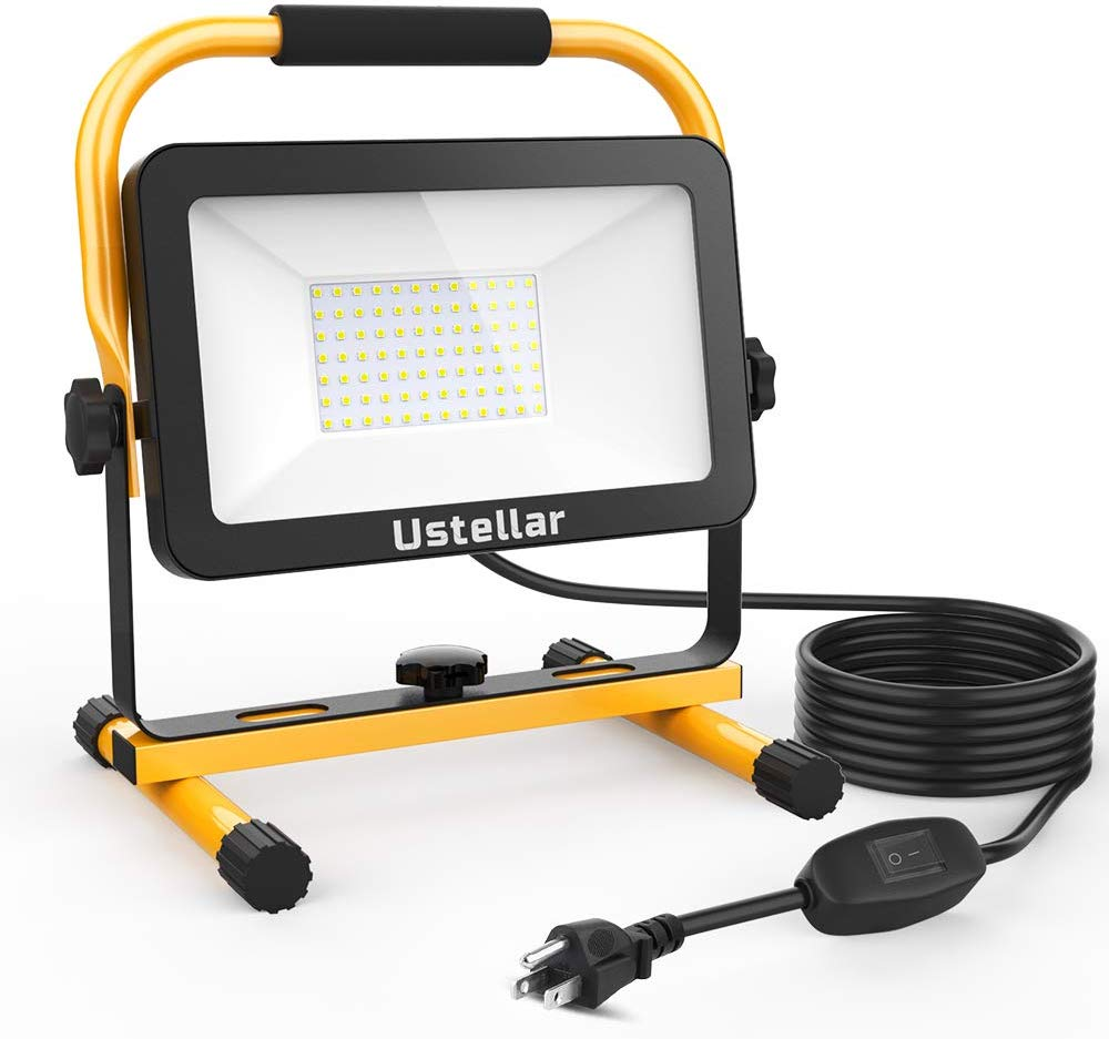 Ustellar 60W Portable LED Work Light 3030 LEDs