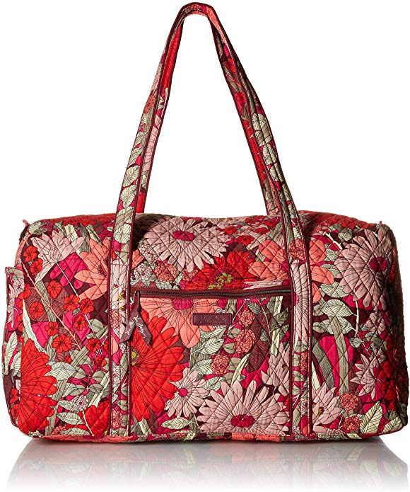 Vera Bradley Women's Signature Cotton Large Duffel Travel Bag