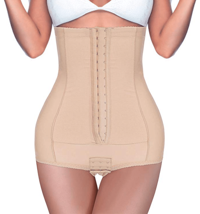 BRABIC Postpartum Girdle High Waist Control Panties for Women Butt Lifter Belly Slimming Body Shaper Underwear