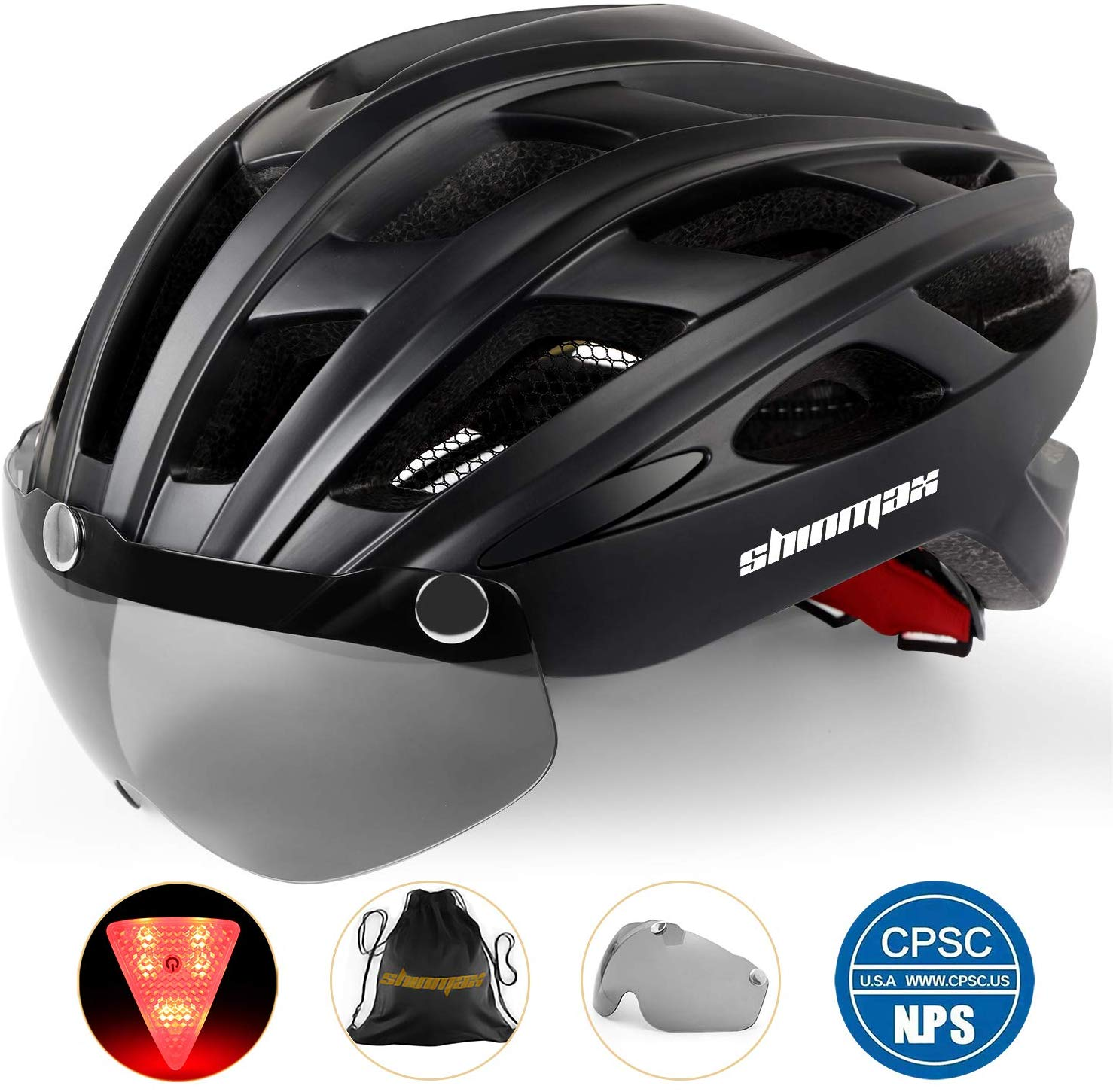 Basecamp Bike Helmet, Bicycle Helmet CPSC Certified