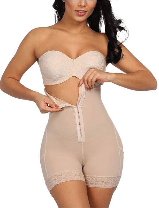 Lover-Beauty Women High Waist Body Shaper Butt Lifter Firm Control Shapewear Boyshorts