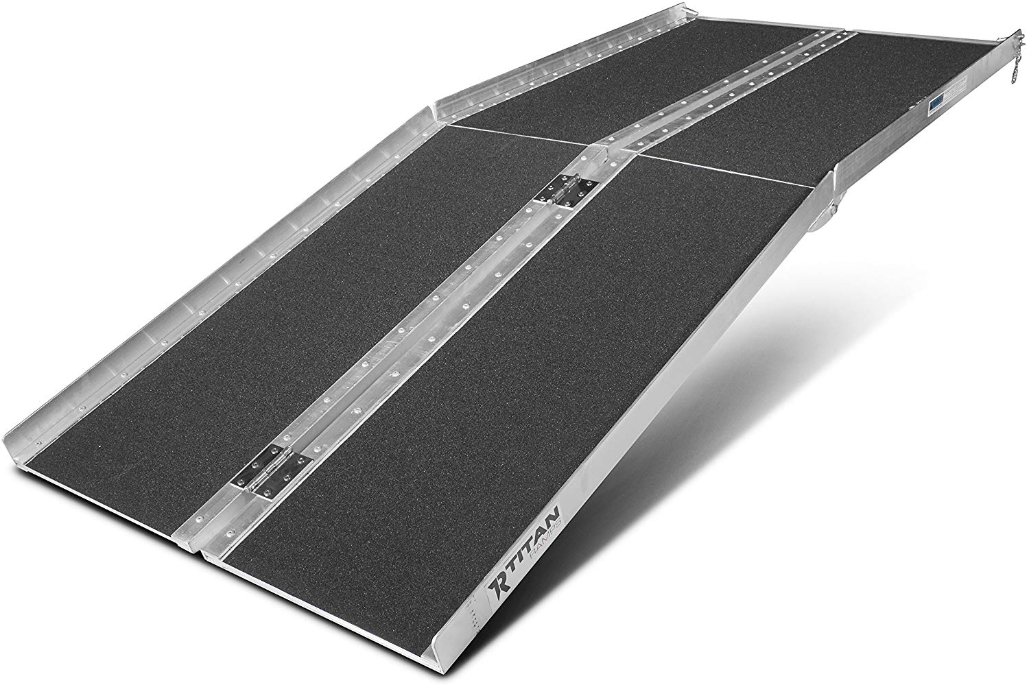 Titan Ramps 6' ft Aluminum Multifold Wheelchair Scooter Mobility Ramp portable