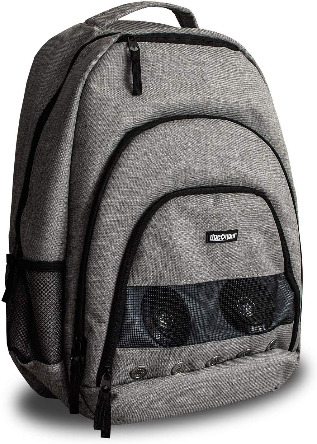Deco Gear Bluetooth Speaker Backpack with Power Bank