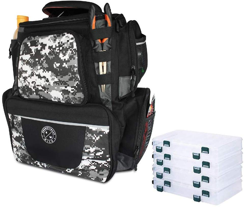 Essentially Wild Fishing Tackle Backpack