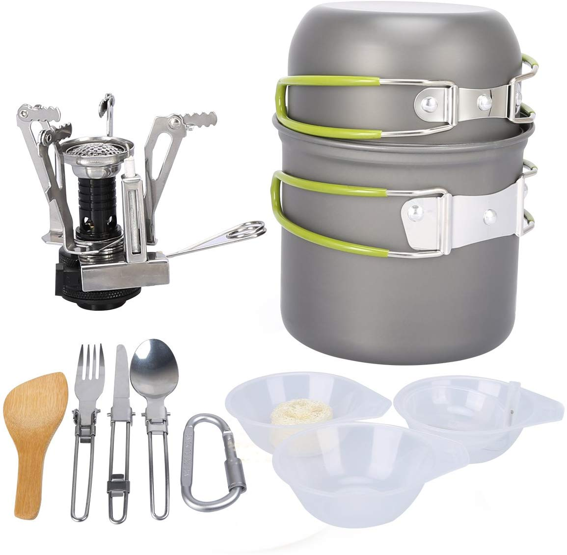 G4Free Camping Cookware Mess Kit
