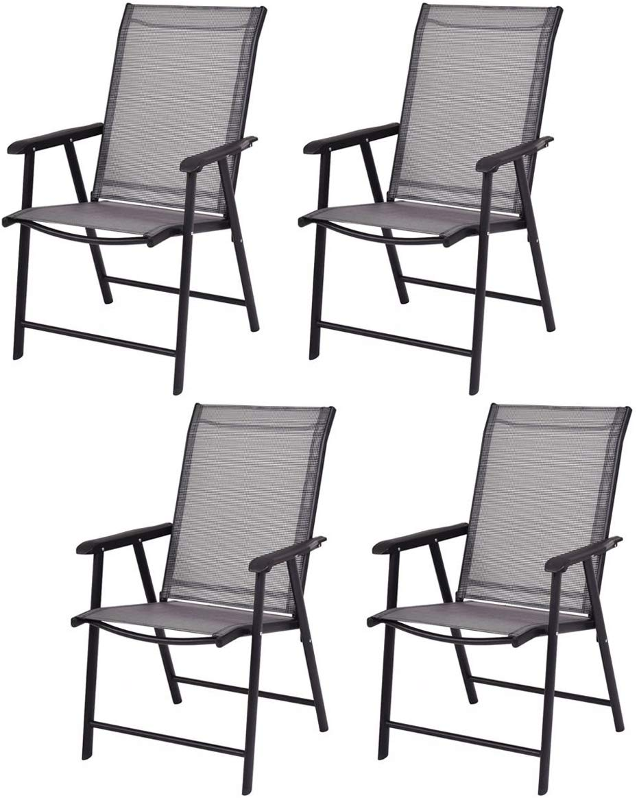 Giantex 4-Pack Patio Chairs