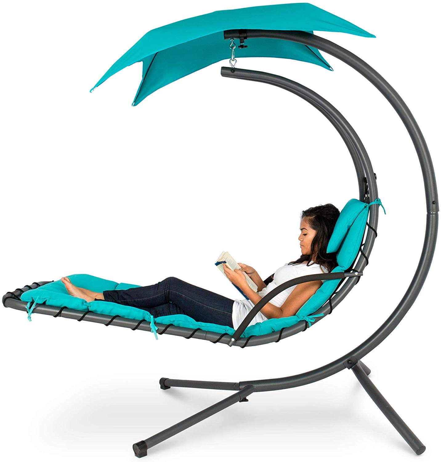 Outdoor Hanging Curved Chaise