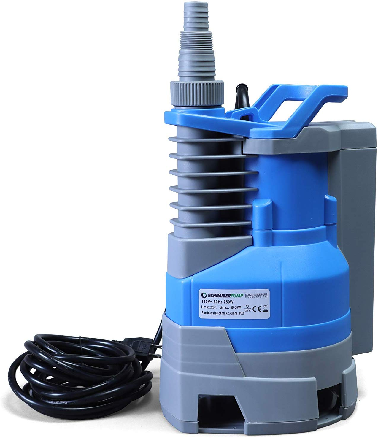 Submersible Clean/Dirty Water Pump