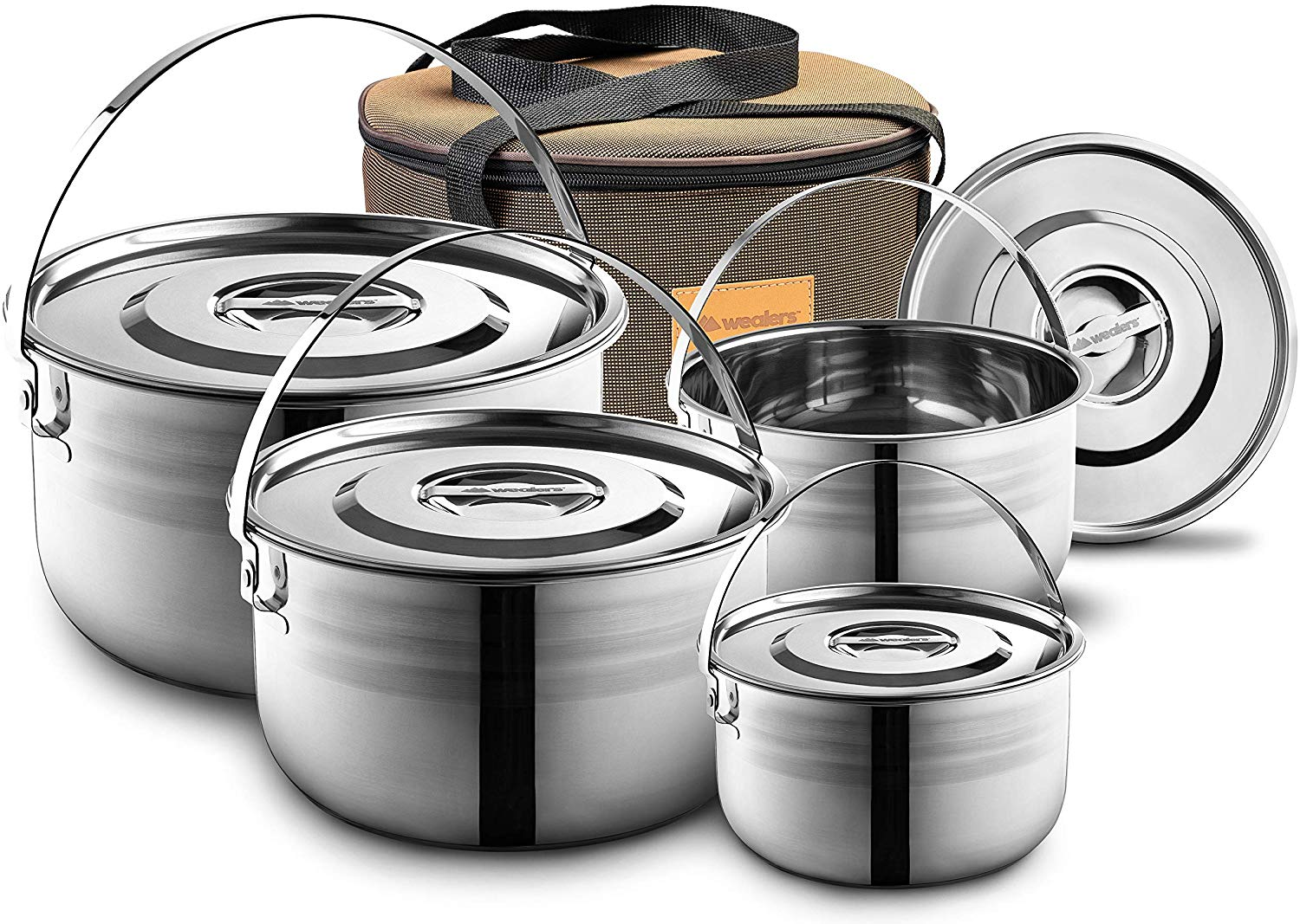 Wealers Camping Cookware Set