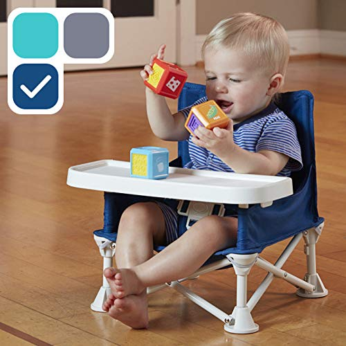 hiccapop Omniboost Travel Booster Seat with Tray for Baby