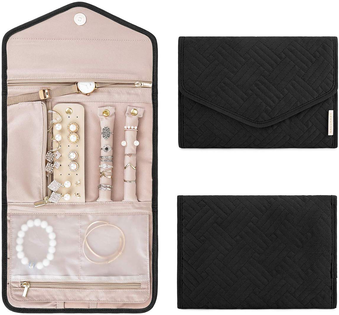 BAGSMART Roll Foldable Jewelry Case