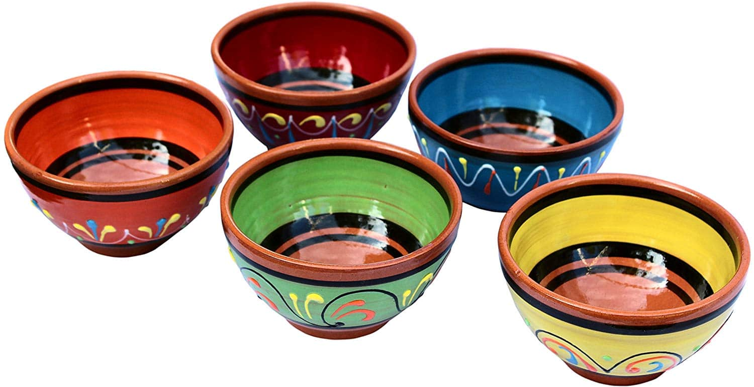 Cactus Canyon Ceramics 5-Piece Bowl Set