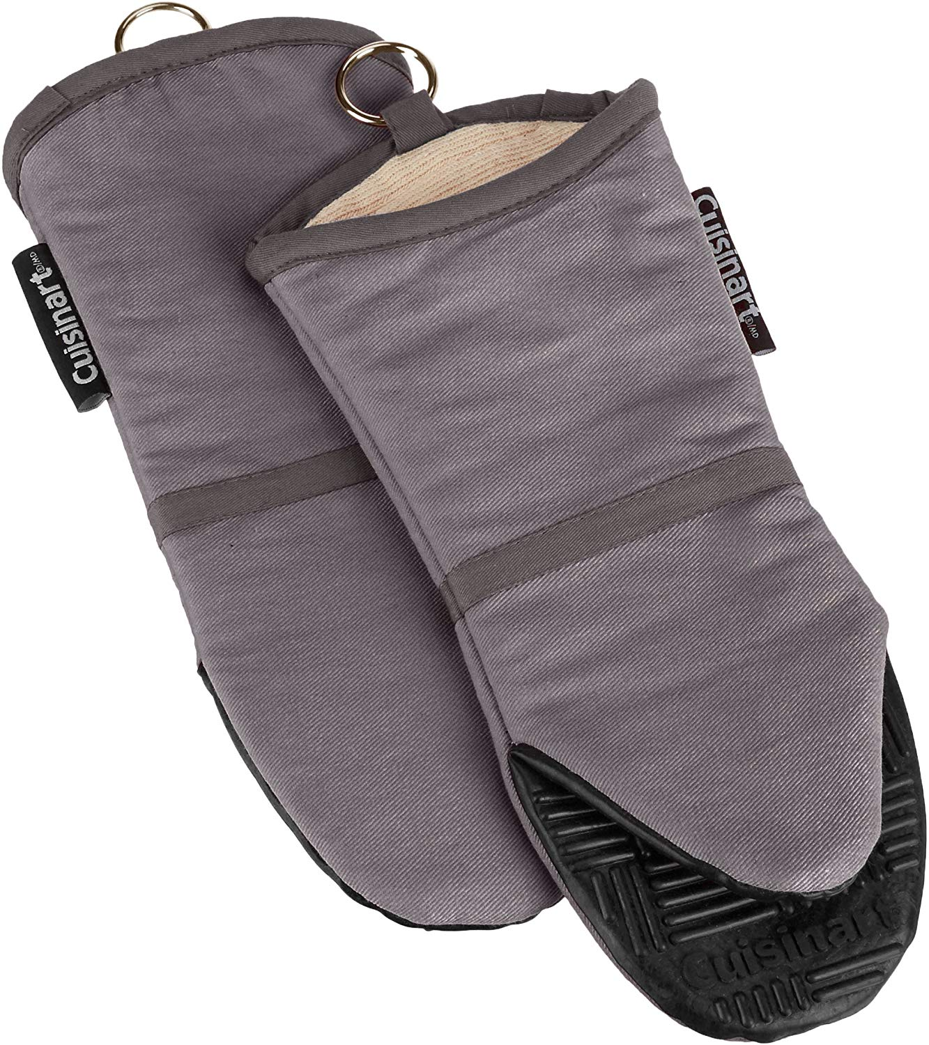 Cuisinart 2pk Silicone Oven Mitts – Grey