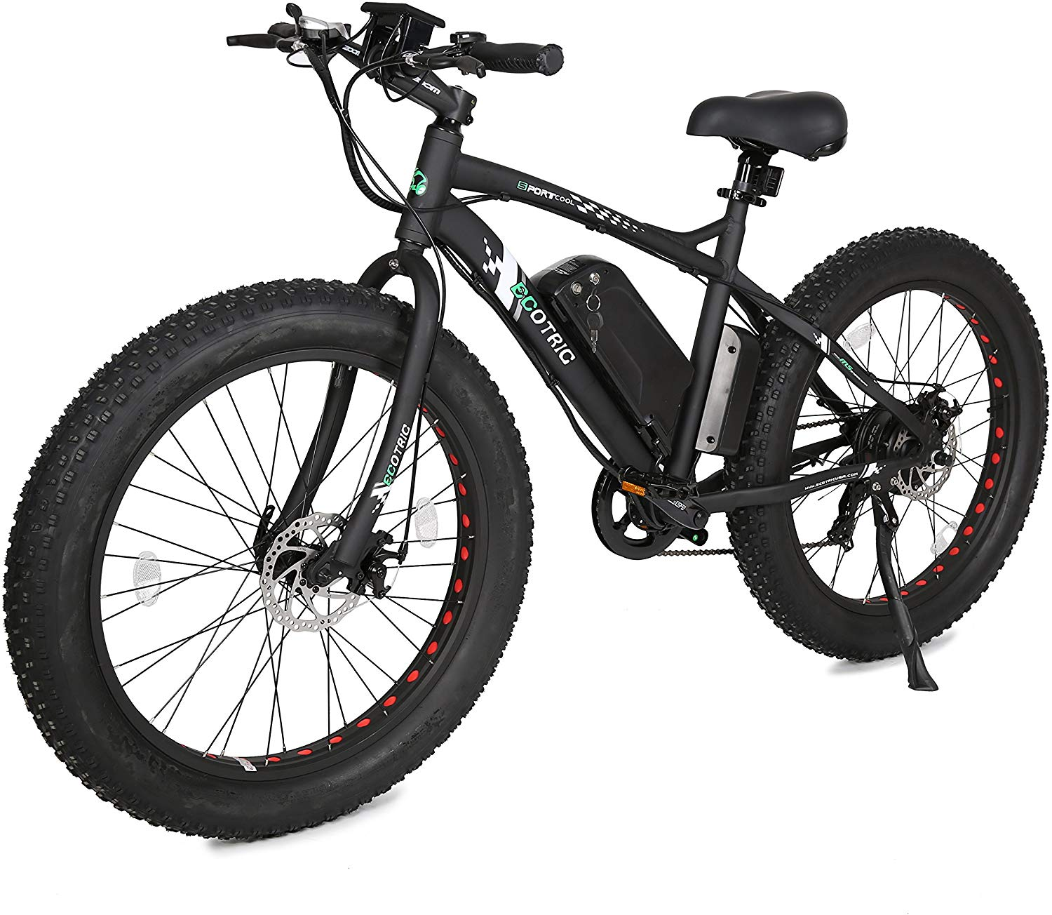 ECOTRIC Fat Tire 26 Inch Electric Mountain Bicycle