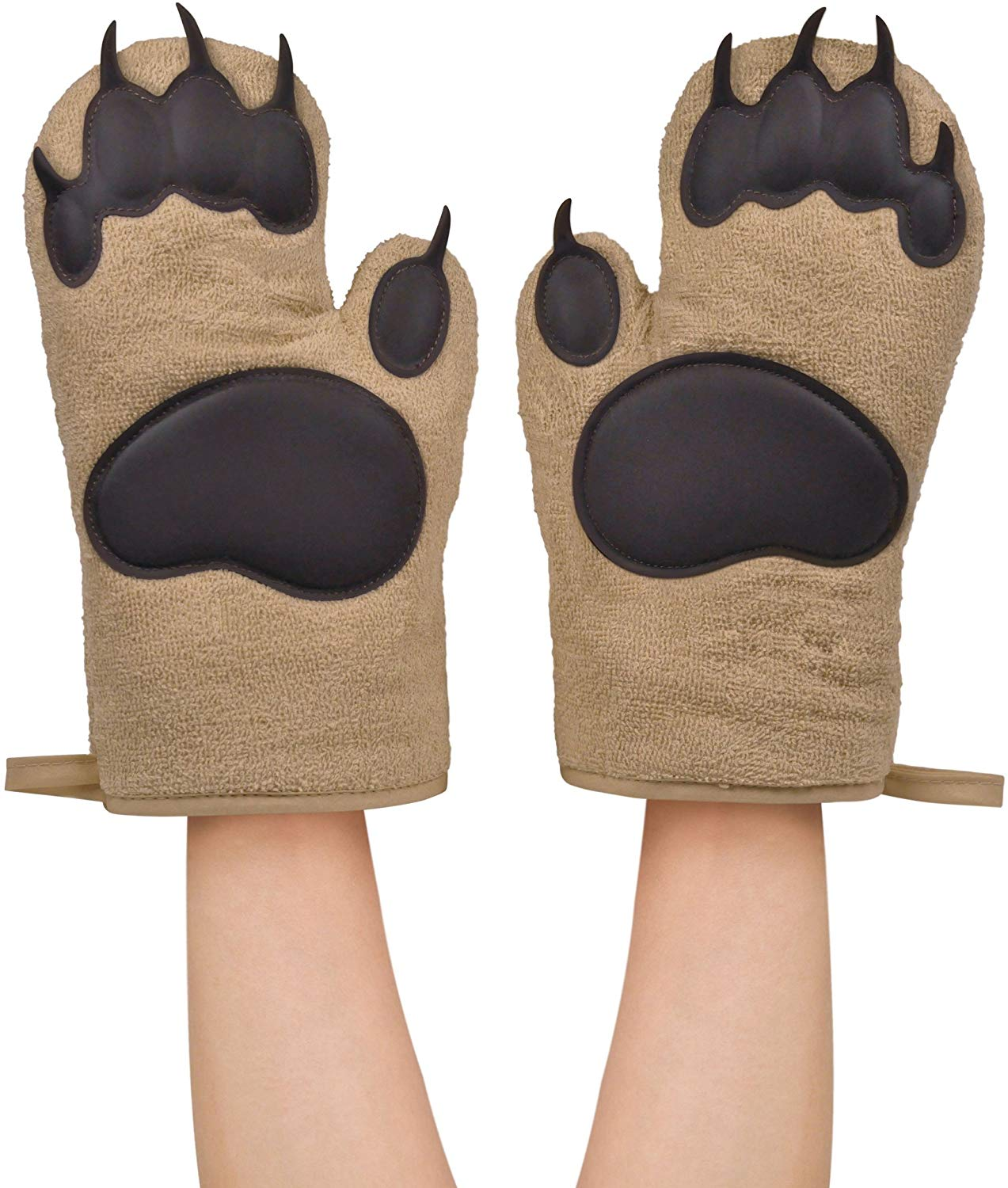 Fred & Friends 5130360 Oven Mitts Bear, Hands