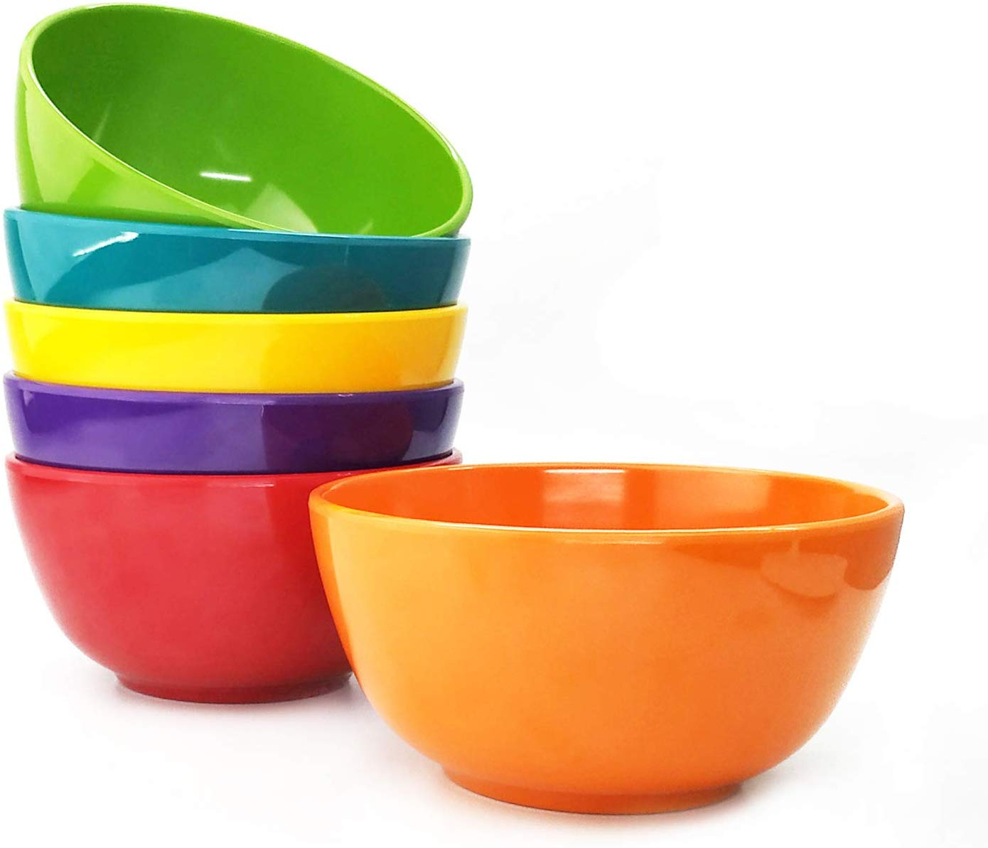 L&C HOUSEWARES Melamine Bowls Set of 12-28oz