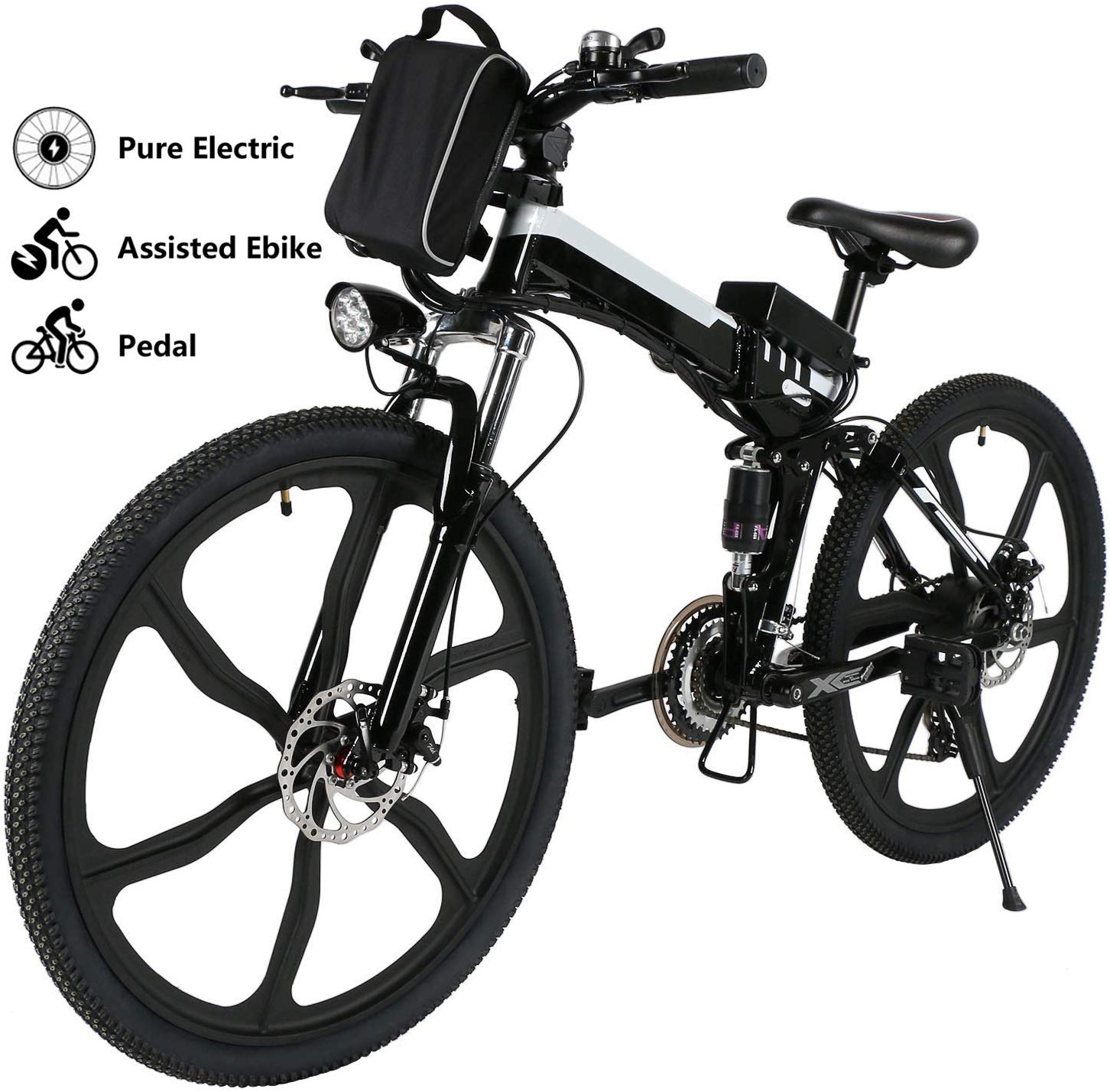 Yiilove Electric Bicycle 26 Inch Electric Mountain Bike