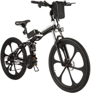 ANCHEER Electric Folding Bike