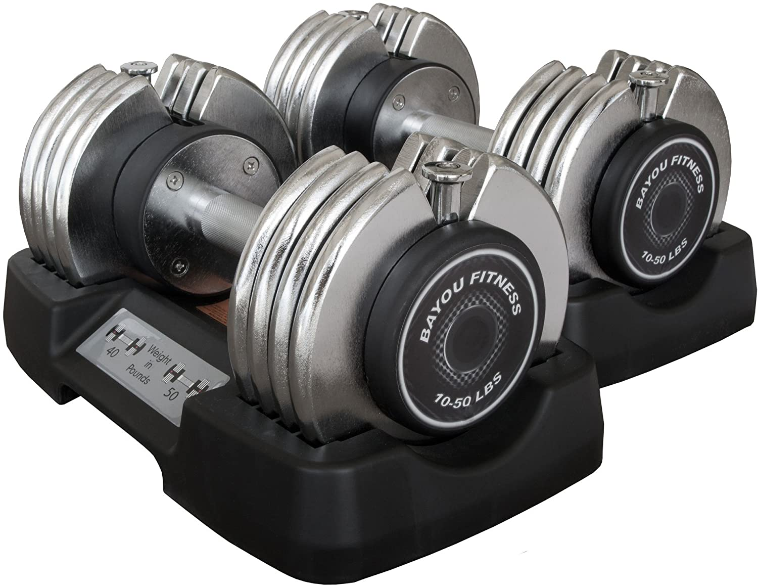 Bayou Fitness Adjustable Dumbbell