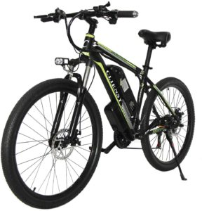 "CLIENSY 26"" Aluminum Electric Mountain Bike"