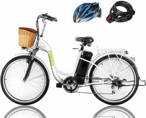 "NAKTO 26"" 250W Electric Bicycle"