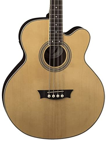 Dean Exotica Supreme Cutaway Acoustic Electric Bass